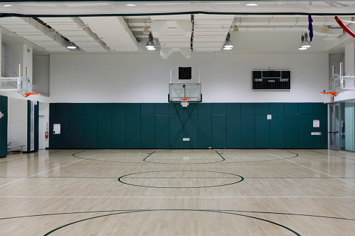 Gym「Basketball court」:スマホ壁紙(13)