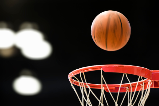 Approaching「Basketball above basket.」:スマホ壁紙(10)