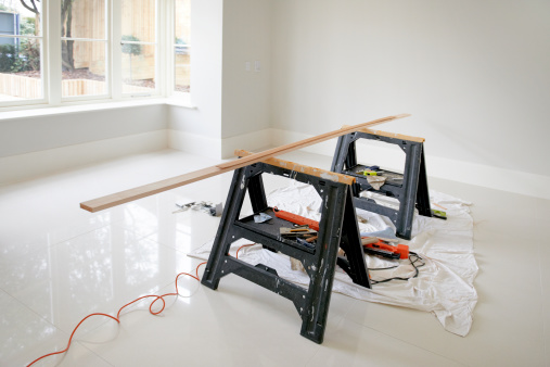 Home Addition「Work bench in new build house」:スマホ壁紙(6)
