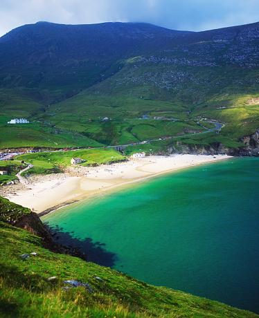 Achill Island「Beach on Keem Bay」:スマホ壁紙(5)