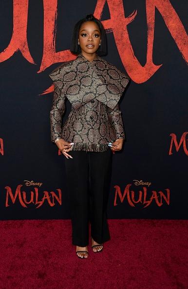 """Wide「Premiere Of Disney's """"Mulan"""" - Arrivals」:写真・画像(8)[壁紙.com]"""