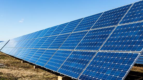 Ecosystem「Blue solar panels」:スマホ壁紙(1)