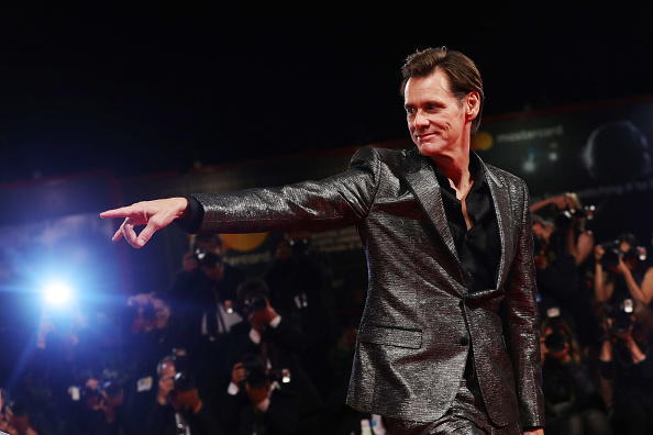 Jim Carrey is Mr「Jim & Andy: The Great Beyond - The Story of Jim Carrey & Andy Kaufman Featuring a Very Special, Contractually Obligated Mention of Tony Clifton Premiere - 74th Venice Film Festival」:写真・画像(3)[壁紙.com]