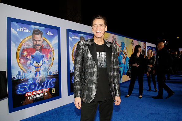 "Jim Carrey is Mr「""Sonic The Hedgehog"" LA Special Screening」:写真・画像(8)[壁紙.com]"