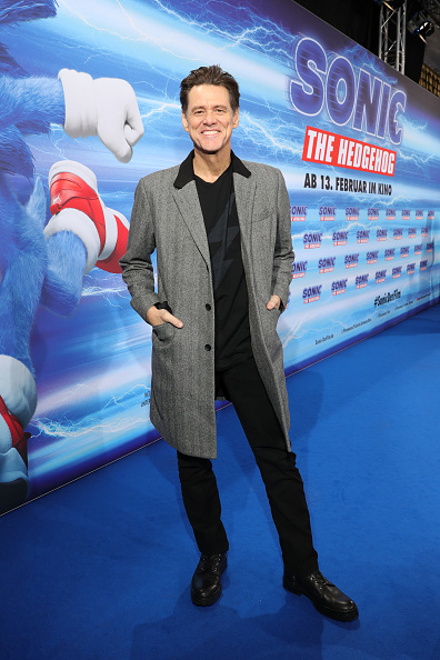 "Jim Carrey is Mr「""Sonic The Hedgehog"" Special Screening In Berlin」:写真・画像(13)[壁紙.com]"