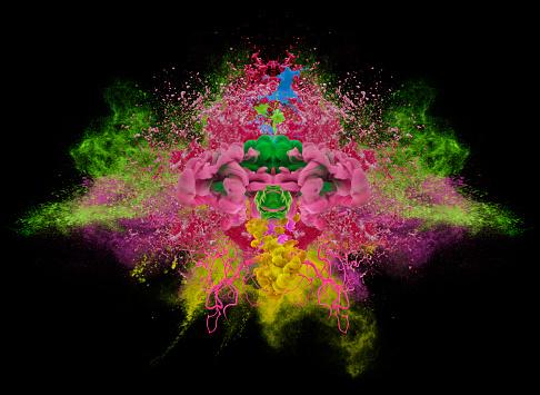 Spraying「colors explosion」:スマホ壁紙(6)