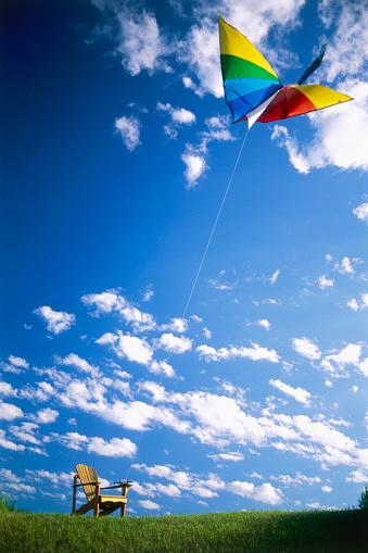 Adirondack Chair「Flying Kite Tied to Adirondack Chair」:スマホ壁紙(16)