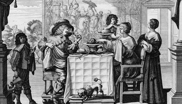 Baroque Style「Feasting Family」:写真・画像(2)[壁紙.com]