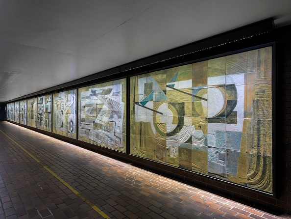 General View「Mural By Dorothy Annan」:写真・画像(4)[壁紙.com]
