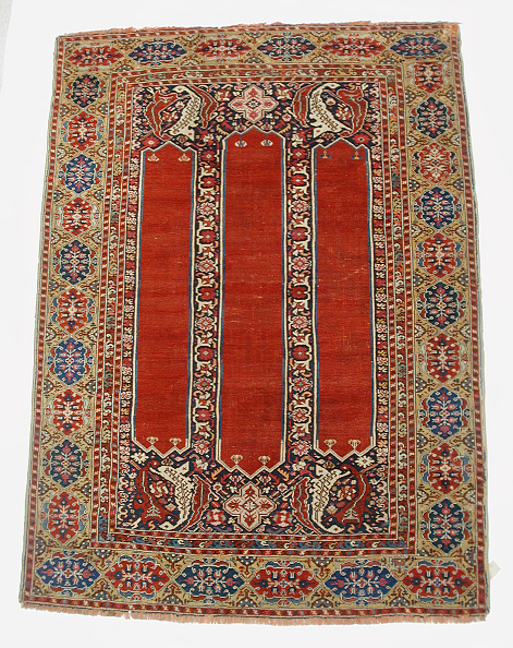 Rug「Carpet With Double-Ended Triple Niche」:写真・画像(18)[壁紙.com]