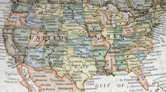 Mexico「USA Map」:スマホ壁紙(8)