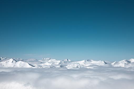 Mountain Peak「Snowcapped Mountains」:スマホ壁紙(12)