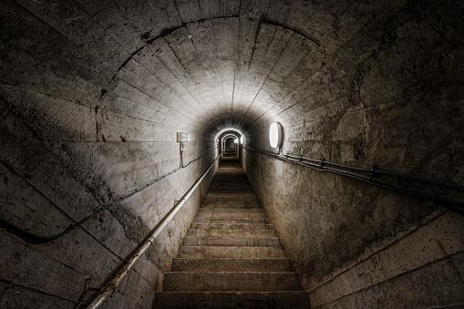 Jersey - England「Old wartime tunnel, St Aubin, Jersey」:スマホ壁紙(12)