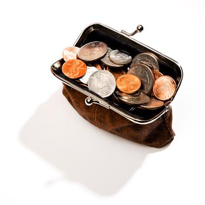 Clutch Bag「Coins in change purse」:スマホ壁紙(0)