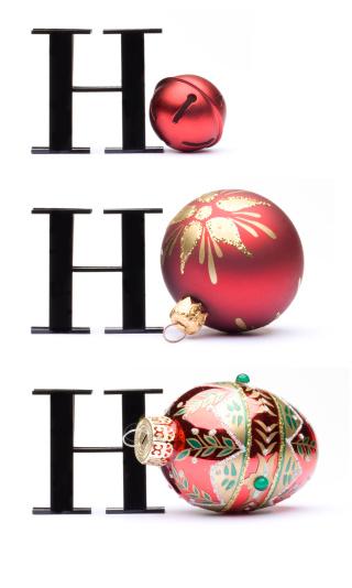 Single Word「HOHOHO Christmas card concept」:スマホ壁紙(0)