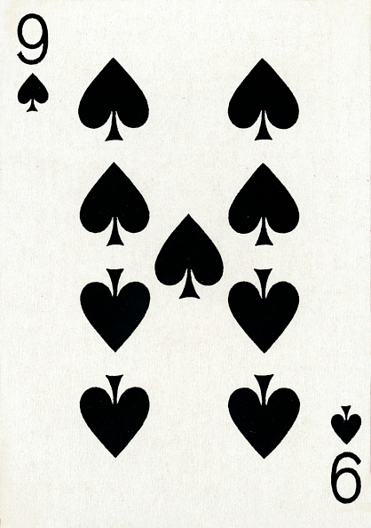 Recreational Pursuit「9 of Spades from a deck of Goodall & Son Ltd」:写真・画像(8)[壁紙.com]