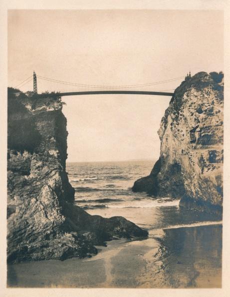 Suspension Bridge「Island Gap - Newquay, 1927」:写真・画像(17)[壁紙.com]