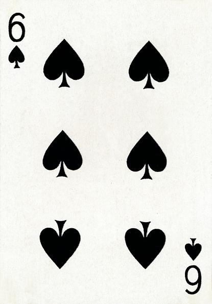 Recreational Pursuit「6 of Spades from a deck of Goodall & Son Ltd」:写真・画像(3)[壁紙.com]