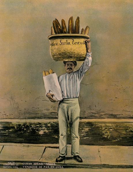 Loaf of Bread「Cuban bread vendor c 1920」:写真・画像(12)[壁紙.com]