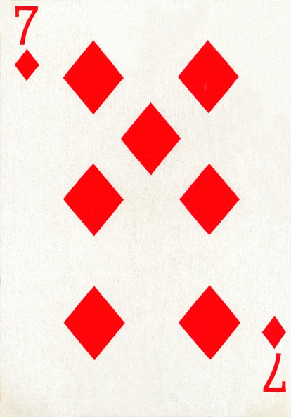 Recreational Pursuit「7 of Diamonds from a deck of Goodall & Son Ltd」:写真・画像(6)[壁紙.com]