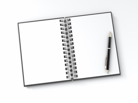 Writing「Blank Notepad with Pen」:スマホ壁紙(15)