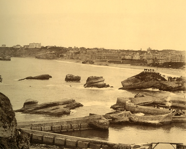 North Atlantic Ocean「Biarritz - Vue Densemble Prise De Latalaye C」:写真・画像(4)[壁紙.com]