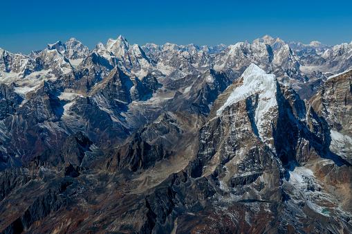 Ama Dablam「Nepal, Himalaya, Solo Khumbu, Taboche peak from Ama Dablam South West Ridge」:スマホ壁紙(3)