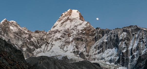 Ama Dablam「Nepal, Himalaya, Solo Khumbu, Ama Dablam South West Ridge」:スマホ壁紙(0)
