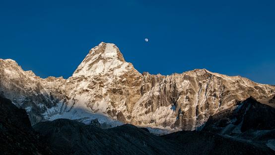 Ama Dablam「Nepal, Himalaya, Solo Khumbu, Ama Dablam South West Ridge」:スマホ壁紙(4)