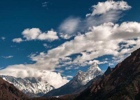 Ama Dablam「Nepal, Himalaya, Solo Khumbu, Ama Dablam, Everest region」:スマホ壁紙(1)