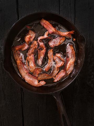 Fried「Bacon Frying」:スマホ壁紙(14)