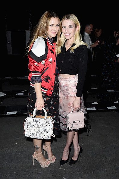 Pale Pink「Coach 75th Anniversary: Women's Pre-Fall and Men's Fall Show - Front Row」:写真・画像(10)[壁紙.com]