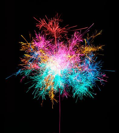 Exploding「Fire Flower」:スマホ壁紙(11)