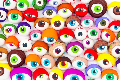 Eccentric「Eyes」:スマホ壁紙(5)