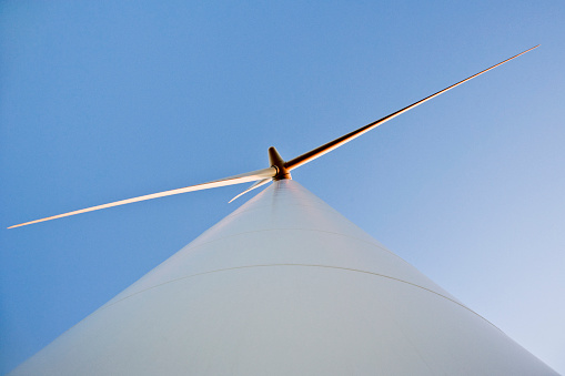 Power Equipment「View from Below of Horizontal Axis Wind Turbine」:スマホ壁紙(7)