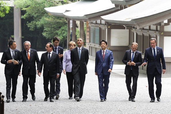 East Asia「G7 Japan 2016 Ise-Shima - Day 1」:写真・画像(4)[壁紙.com]