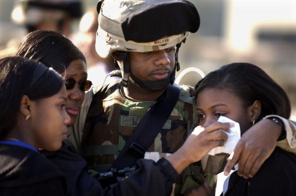 Fort Stewart「Members Of Third Infantry Division Deploy To Iraq」:写真・画像(17)[壁紙.com]