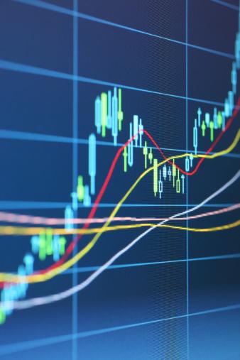 Trading「Digital Stock Chart」:スマホ壁紙(18)