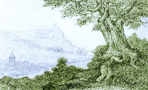 Tree「Johann Wolfgang von Goethe 's sketch」:写真・画像(9)[壁紙.com]