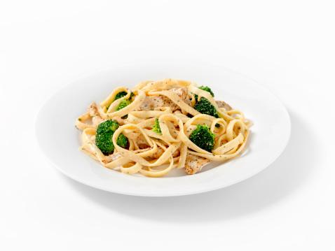 Broccoli「Grilled Chicken with Broccoli Fettuccini」:スマホ壁紙(14)