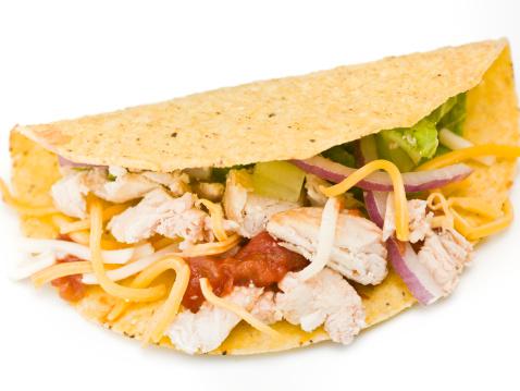 Crunchy「Grilled Chicken Taco」:スマホ壁紙(10)