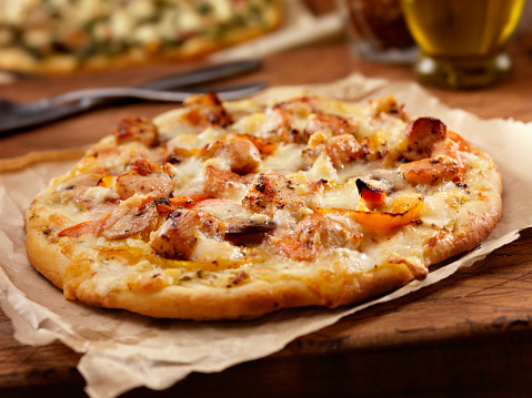 Chicken Meat「Grilled Chicken and Roasted Pepper Pizza」:スマホ壁紙(3)
