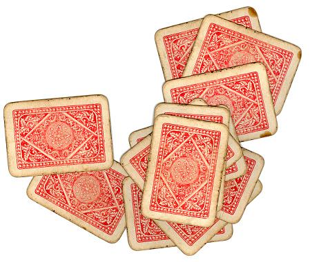 Leisure Games「Vintage playing cards」:スマホ壁紙(2)