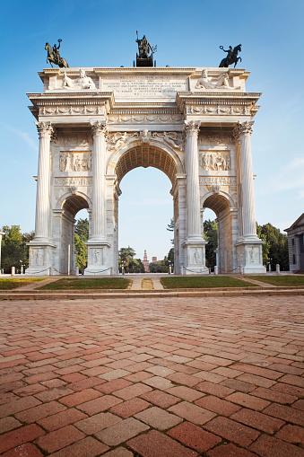 Milan「The Peace Arch in Milan」:スマホ壁紙(16)