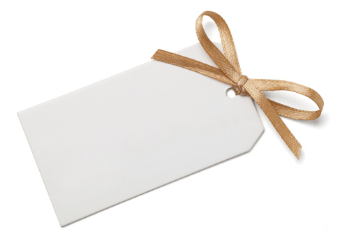 Tied Bow「Gift Tag with Bow」:スマホ壁紙(9)