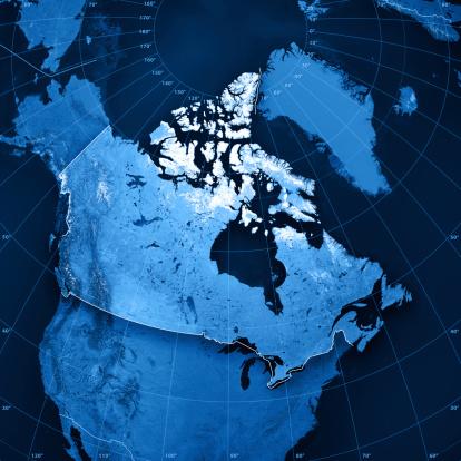 Digital Composite「Canada Topographic Map」:スマホ壁紙(5)