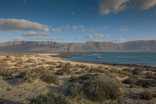 La Graciosa - Canary Islands「Playa Francesa」:スマホ壁紙(17)