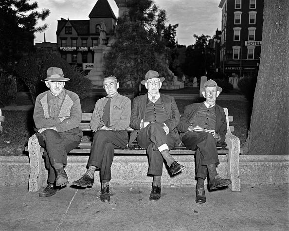 Bench「Four Old Men」:写真・画像(17)[壁紙.com]