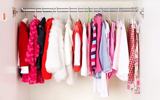 Coat - Garment「A picture of a close of children clothes」:スマホ壁紙(9)