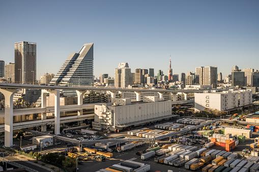 Tokyo Tower「Elevated View of Minato-ku, Tokyo」:スマホ壁紙(13)